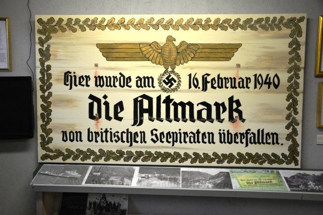Propagandaschild der Nazis