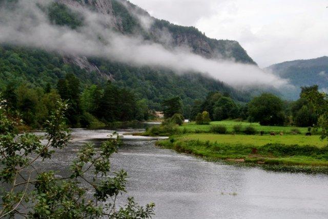 Bild von der Lyngna im Lachsfreien Bereich