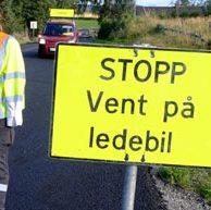 Stopp Vent på ledebil