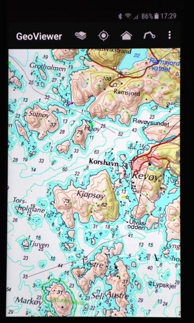 seekarten app Südnorwegen Reiseführer   Seekarten für das Handy seekarten app