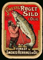 Historische Fischdose