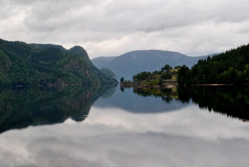 Bild vom Oberlauf der Lyngna