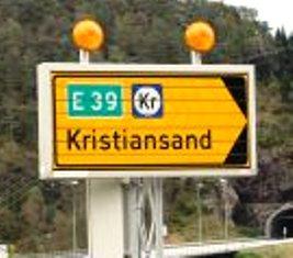 Wegweiser Norwegen