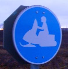 Schild aus norwegen