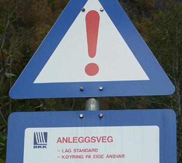 Norwegisches Schild