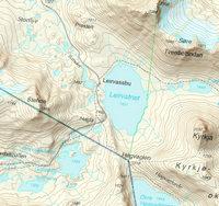 Topografisk rasterkart 2 WMS