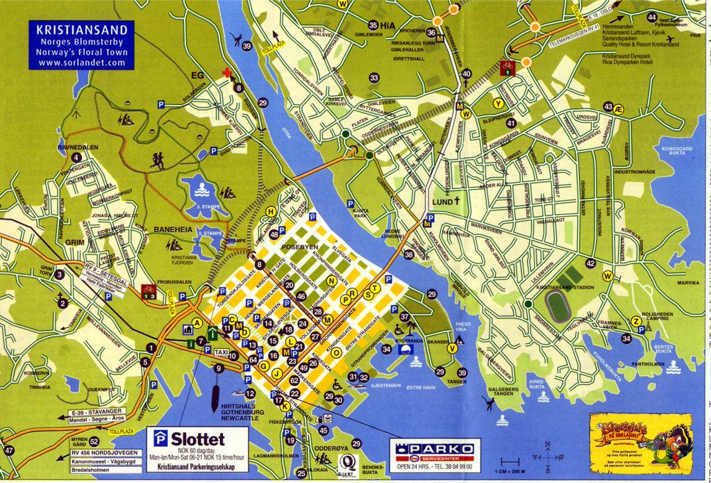 Karte Südnorwegen.Südnorwegen Reiseführer Kristiansand
